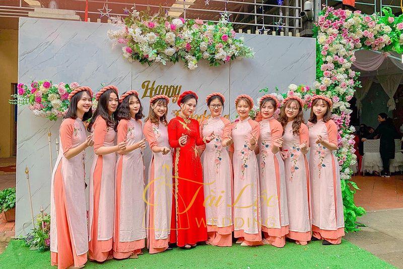 Dịch vụ bưng mâm quả đám cưới
