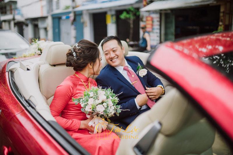 Đám hỏi thì nên mặc áo dài cưới màu gì ?