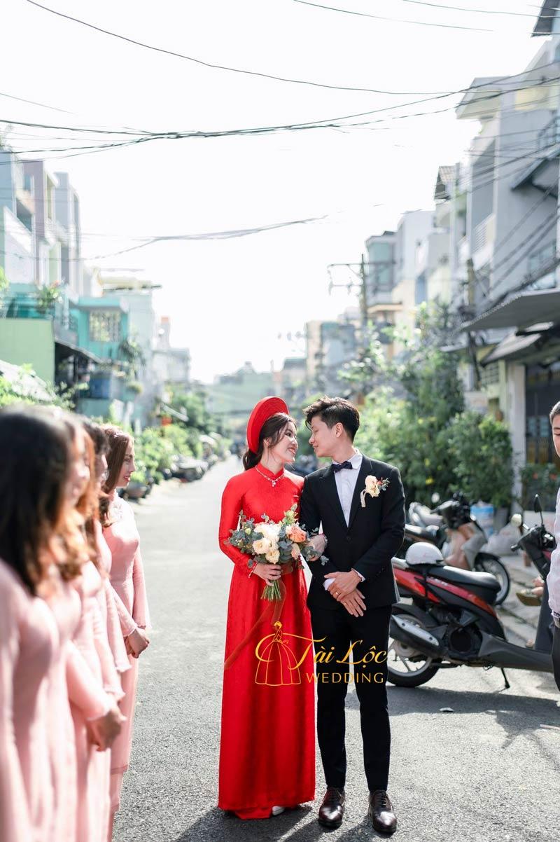 Thuê áo dài cưới đẹp, áo dài đám hỏi đẹp TPHCM - Sài Gòn