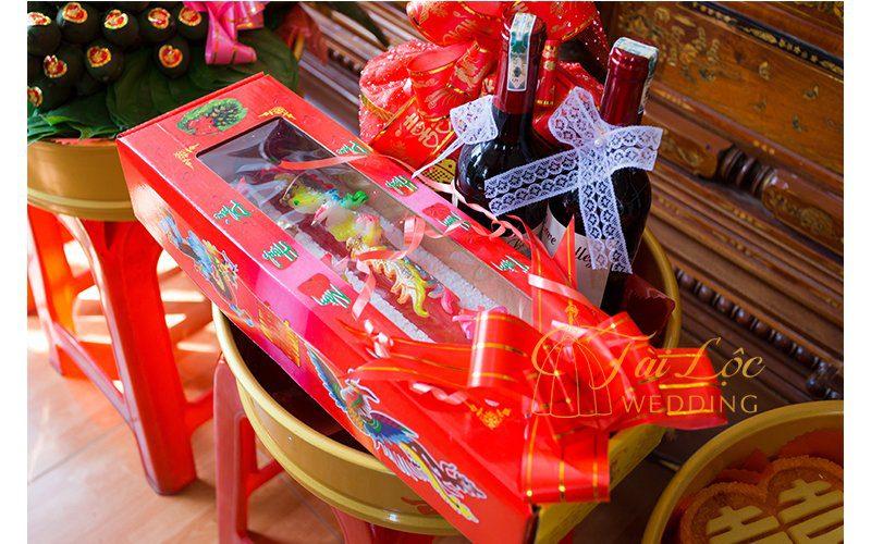 Bảng giá trà rượu dạm ngõ gói sẵn tại Tài Lộc Wedding